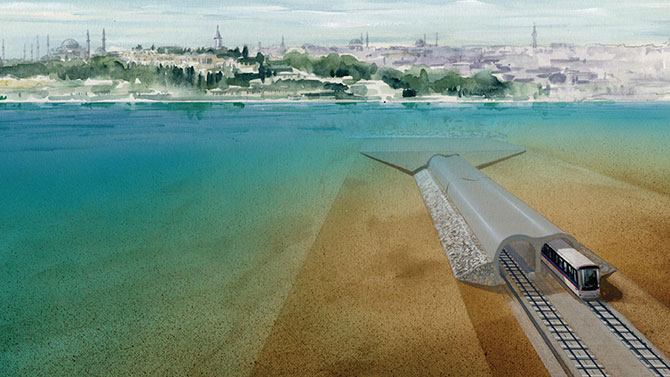 MARMARAY Bosphorus Tube Crossing Project
